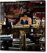 Restaurant In Montmartre Acrylic Print