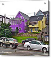 Restaurants In Lunenburg-ns Acrylic Print