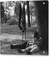 Resting At Gettysburg Acrylic Print