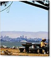 Resting On The Emeryville Penninsula Acrylic Print