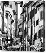 Restless In Arezzo-italy Acrylic Print