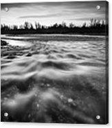 Restless River II Acrylic Print