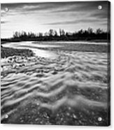 Restless River IIi Acrylic Print by Davorin Mance