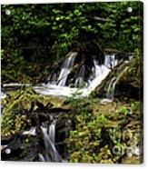 Restless Water Acrylic Print
