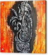Rest'n'roll Fear Is Over Acrylic Print