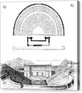 Restoration Of The Greek Theater Acrylic Print