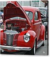 Restored Classic Cars Acrylic Print