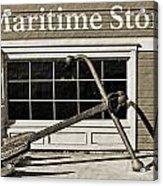 Restored Maritime Store Acrylic Print