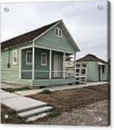 Restored Migrant Shack In Weedpatch Camp Acrylic Print