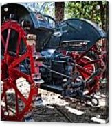 Restored Tractor Acrylic Print
