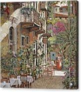 Rethimnon-crete-greece Acrylic Print by Guido Borelli