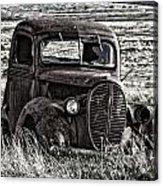 Retired Farm Truck Acrylic Print