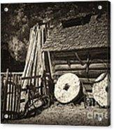 Retired Mill Stones Acrylic Print