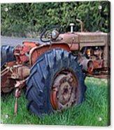 Retired Tractor Acrylic Print