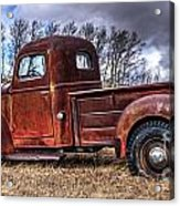 Retired Working Truck Acrylic Print
