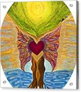 Retreat Of The Sacred Acrylic Print