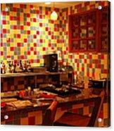 Retro Diner Acrylic Print