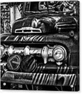 Retro Fire Engine Acrylic Print