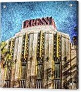 Retro Kress Acrylic Print