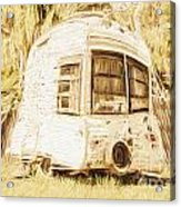 Retrod The Comic Caravan Acrylic Print
