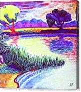 Return To Morgan's Pond Acrylic Print