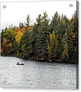 Returning From A Canoe Trip Acrylic Print