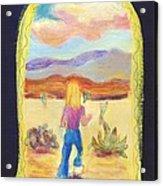 Returning To Arizona Acrylic Print