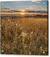 Retzer Autumn Sunset Acrylic Print