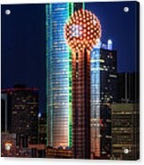 Reunion Tower Acrylic Print