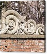 Reused Architectural Salvage Acrylic Print
