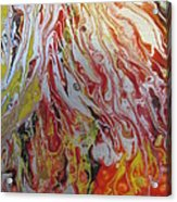 Revelation Wings Acrylic Print