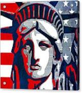 Reversing Liberty 1 Acrylic Print