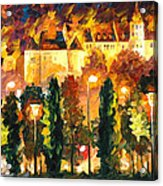 Revived Legend - Palette Knife Oil Painting On Canvas By Leonid Afremov Acrylic Print