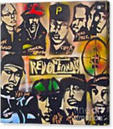 Revolutionary Hip Hop Acrylic Print