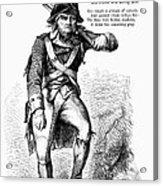 Revolutionary Soldier Acrylic Print