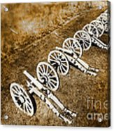 Revolutionary War Cannons Acrylic Print