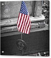 Revolutionary War Veteran Marker Acrylic Print by Teresa Mucha