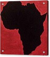 Revolutionist Alkebulan  Acrylic Print