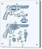 Revolver Patent E.t Starr Acrylic Print