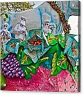Rex Mardi Gras Parade II Acrylic Print