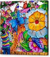 Rex Mardi Gras Parade Acrylic Print