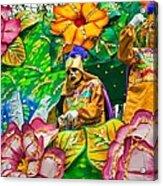 Rex Mardi Gras Parade X Acrylic Print