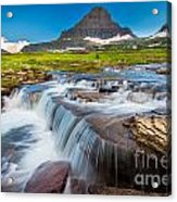 Reynolds Creek Falls Acrylic Print