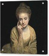 Reynolds, Sir Joshua 1723-1792. Studio Acrylic Print
