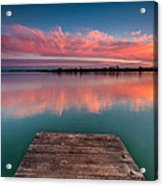 Rgb Sunset Acrylic Print
