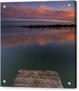 Rgb Sunset II Acrylic Print