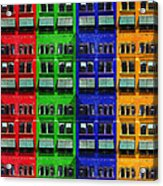 Rgby - Downtown Apartments Acrylic Print