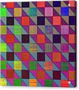 Rgby Squares II Acrylic Print