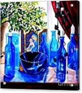 Rhapsody In Blue Acrylic Print