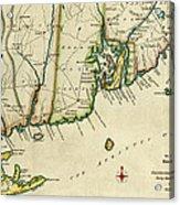 Rhode Island 1780 Acrylic Print